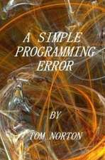 A Simple Programming Error