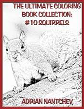 The Ultimate Coloring Book Collection #10 Squirrels
