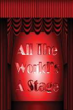 Shakespeare Journal - All the World's a Stage (Red)