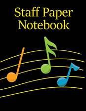 Staff Paper Notebook