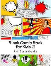 Blank Comic Book for Kids 2