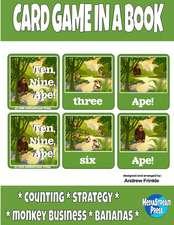 Card Game in a Book - Ten, Nine, Ape!