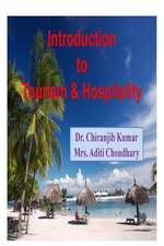 Introduction to Tourism & Hospitality