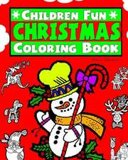 Childrens Fun Christmas Coloring Book