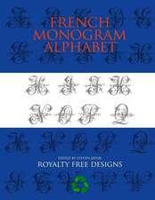 French Monogram Alphabet