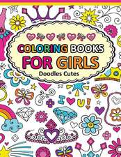 Coloring Book for Girls Doodle Cutes