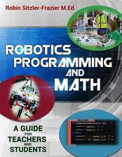 Robotics Programming and Math
