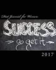 Diet Journal for Women 2017