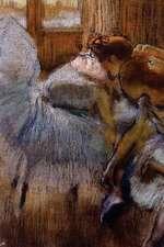 ''Dancers Relaxing'' by Edgar Degas