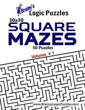 Brainy's Logic Puzzles 30x30 Square Mazes #1
