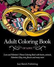 Adult Coloring Book of Love