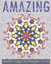 Amazing Mandalas Coloring Book (Beautiful Designs for Relaxation and Focus)
