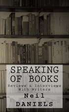 Speaking of Books - Reviews & Interviews with Writers