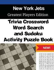 New York Jets Trivia Crossword, Wordsearch and Sudoku Activity Puzzle Book