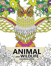 Animal and Wildlife Coloring Book