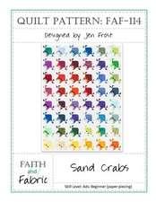 Sand Crabs Quilt Pattern