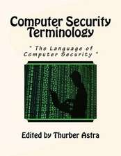 Computer Security Terminology