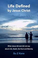 Life Defined by Jesus Christ: What Jesus Did and Did Not Say about Life, Death, the Soul and Eternity