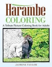 Harambe Coloring
