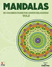 Mandalas 50 Coloring Pages for Adults Relaxation Vol.5