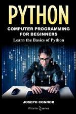 Python: Python Programming for Beginners
