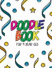 Doodle Book for 9 Year Old