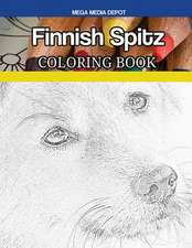 Finnish Spitz Coloring Book