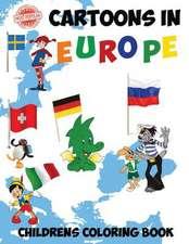 Most Popular Cartoons in Europe