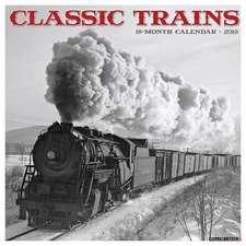 2019 Classic Trains Wall Calendar