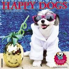 2019 Happy Dogs Wall Calendar