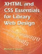 XHTML & CSS Essentials for Lib Web