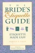 Bride's Etiquette Guide
