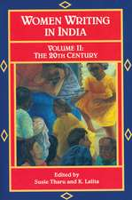 Women Writing India: Volume Ii: The 20th Century