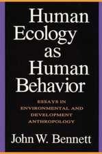 Human Ecology as Human Behavior/P