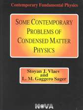 Some Contemporary Problems of Condensed Matter Physics