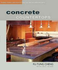 Concrete Countertops:  Design, Forms, and Finishes for the New Kitchen an