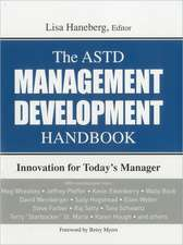 The ASTD Management Development Handbook:  Innovation for Today's Manager
