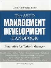 The ASTD Management Development Handbook
