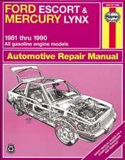 Ford Escort & Mercury Lynx (1981-1990) for all petrol engines inc. EFI & Turbo Haynes Repair Manual (USA)