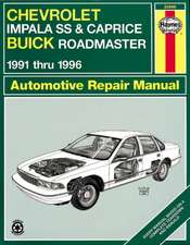 Chevrolet Impala SS and Caprice, Buick Roadmaster 1991-1996
