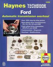 Ford Automatic Transmission Overhaul on Chilton Manual 2001 Dodge Dakota
