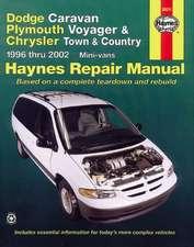 Haynes Dodge Caravan, Plymouth Voyager, Chrysler Town & Country Automotive Repair Manual