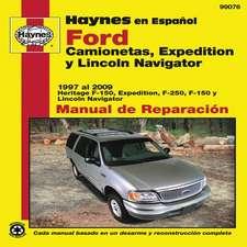 Ford Camionetas, Expedition y Lincoln Navigator Manual de Reparacion