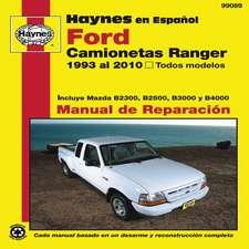 Ford Camionetas Ranger Manual de Reparacion:  1993 Al 2010, Todos Modelos