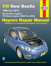 VW New Beetle 1998 Thru 2010:  All Gasoline Engines - Tdi Diesel Engine (1998 Thru 2004)