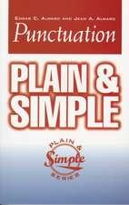 Punctuation Plain & Simple