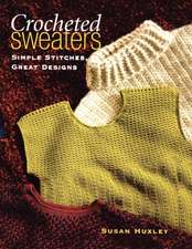 """Crocheted Sweaters """"Print on Demand Edition"""""""