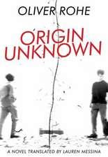 Origin Unknown'