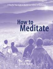 How to Meditate:  A Step-Bystep Guide to the Art and Science of Meditation