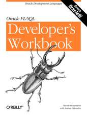 Oracle PL/SQL Developer′s Workbook